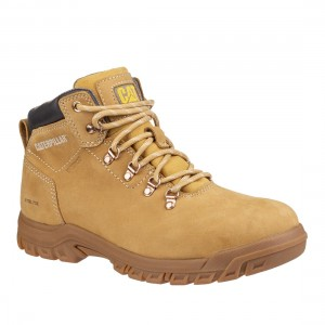 Caterpillar Mae S3 Honey Nubuck Water Resistant Ladies Safety Boots