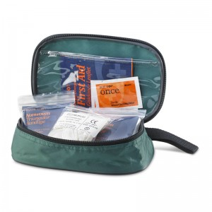 Travelling Pouch First Aid Kits for 1 Person with Guidance Notes