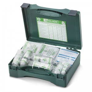 HSE 20 Person First Aid Kits with Green Box Case