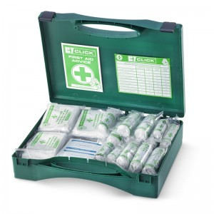 HSE 50 Person Large Boxed Green Case First Aid Kits