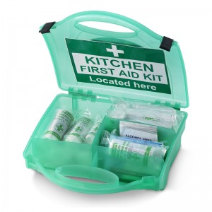 Kitchen First Aid Kits 10 Person with First Aid Kit Located Here Sign