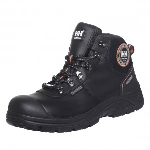 Helly Hansen Chelsea Mid Height Waterproof Black Leather Safety Boots