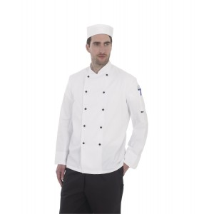 Dennys Lightweight L/Sleeve Chefs Jacket