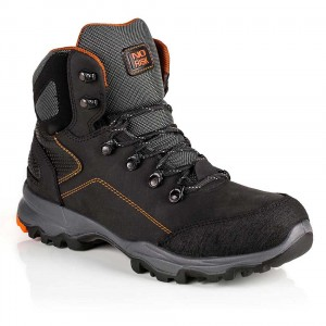 No Risk Discovery Lightweight S3 Water Resistant Black Safety Boots