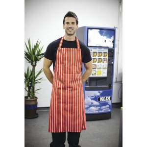 Dennys Cotton Striped Butchers Apron