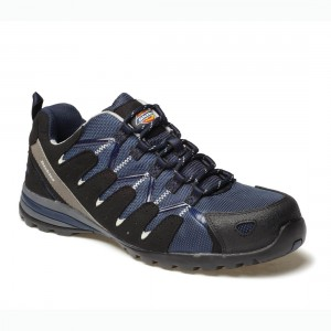 Dickies Tiber Navy Blue Metal Free Unisex S3 Super Safety Work Trainers