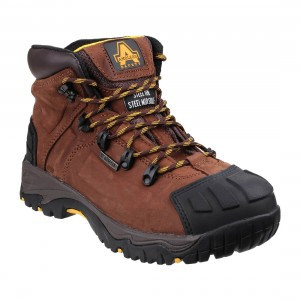Amblers FS39 Waterproof Brown Safety Hiker Boots