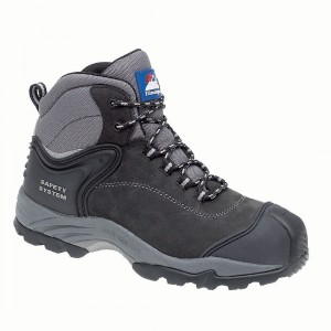 Himalayan 4103 Gravity Black Leather Metal Free Waterproof Safety Boots