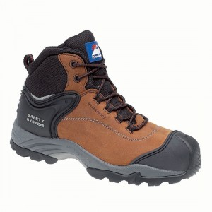 Himalayan 4104 Gravity Waterproof Brown Leather Metal Free Safety Boots