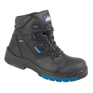 Himalayan 5160 Hygrip Metal Free Black Leather Waterproof Safety Boots