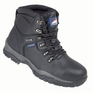 Himalayan 5200 Black Leather S3 Waterproof Unisex Safety Hiker Boots