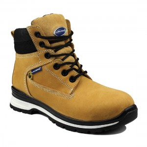 Lavoro E16 Honey Nubuck Water Resistant S3 HRO Ladies Safety Work Boots