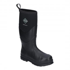 Muck Boots Chore Max S5 SRC Black Waterproof Safety Wellingtons