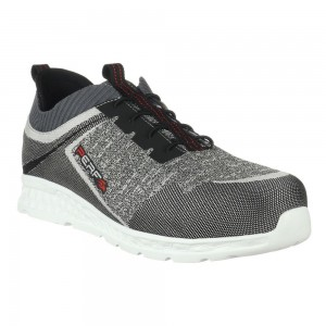 Perf Blade Runner Grey Lightweight S1P SRC Mens Safety Trainers