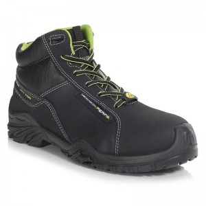Perf Endurance High Black Leather S3 ESD Mens Safety Hiker Boots