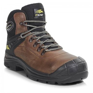 Perf Torsion Brown Leather S3 SRC Lightweight Unisex Safety Hiker Boots