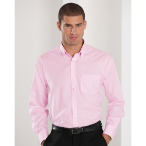 Russell Collection Mens L/S N.Iron Shirt