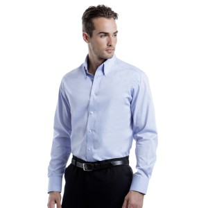 Kustom Kit Tailored Fit Oxford L/S Shirt
