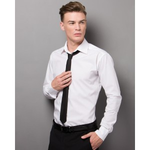 Kustom Kit Slim Fit L/S Business Shirt