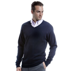 Kustom Kit Mens Arundel V Neck Sweater
