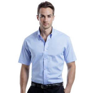 Kustom Kit Mens City S/Sleeve Shirt