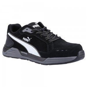 Puma Safety AirTwist Black Grey ESD Metal Free Mens Safety Trainers