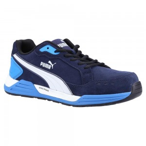 Puma Safety AirTwist Navy Blue ESD Metal Free Mens Safety Trainers