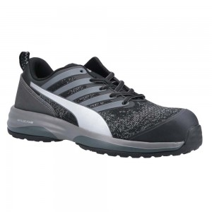 Puma Safety Charge Metal Free ESD Black Lightweight Safety Trainers