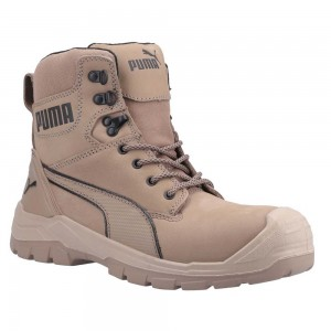 Puma Safety Conquest Stone Side Zip S3 SRC Mens Safety Work Boots
