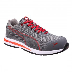Puma Safety Xelerate Grey Knit Metal Free S1P SRC Mens Safety Trainers