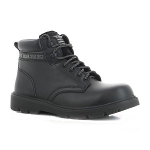 Safety Jogger HD Metal Free Lightweight S3 Black Leather Safety Boots