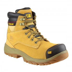 Caterpillar Spiro Honey Nubuck Work Boots