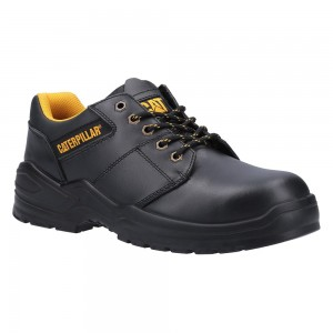 Caterpillar Striver Low Black Leather S3 Executive Mens Safety Shoes