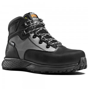 Timberland Pro Reaxion Aerocore Black Euro Hiker Safety Work Boots