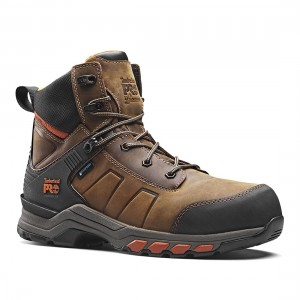 Timberland Pro Hypercharge Brown Leather S3 Waterproof Safety Boots