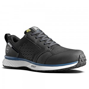 Timberland Pro Reaxion S3 Black Blue Mens Aerocore Safety Trainers