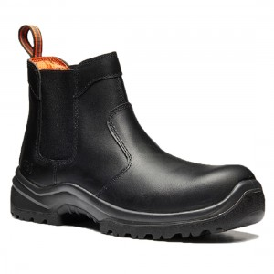 V12 Colt VR609 Black Leather Safety Dealer Boots