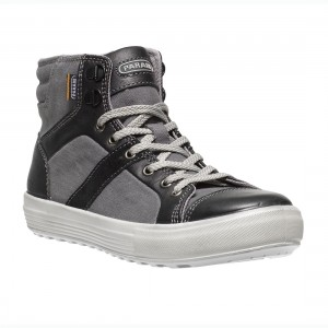 Parade Footwear Vercor Unisex Grey and Black Safety Sneaker Work Boots
