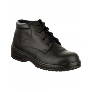 Safety Jogger Best Lady Classic Black Leather S3 Ladies