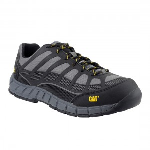 Caterpillar Streamline Metal Free S1P SRC Grey Mens Safety Trainers