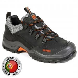 No Risk Lewis Metal Free S3 Water Resistant Mens Safety Work Shoes