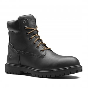 Timberland Pro Iconic Black Smooth Leather S3 Waterproof Safety Boots