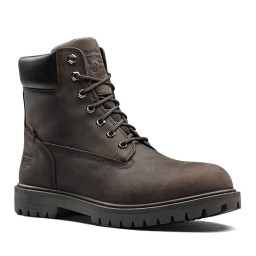 Timberland Pro Iconic Brown Crazy Leather S3 Waterproof Safety Boots